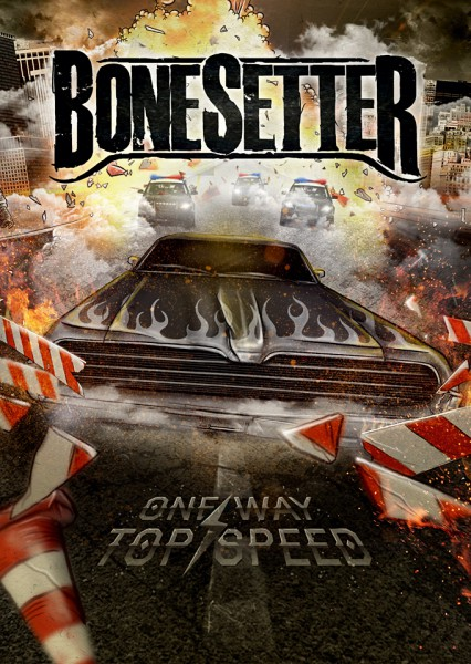 ONE WAY TOP SPEED Poster